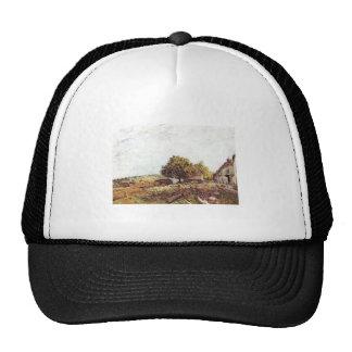 Alfred Sisley - Saint-Mammès am Morgen 1890 Trucker Hat