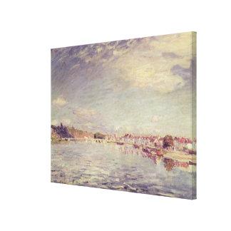 Alfred Sisley   Saint-Mammes Canvas Print
