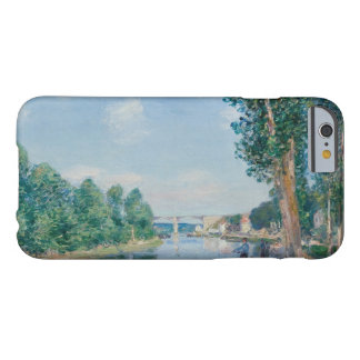 Alfred Sisley - Saint-Mammes. June Sunshine Barely There iPhone 6 Case