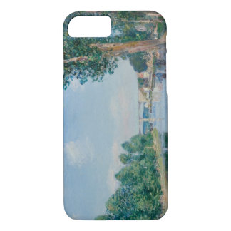 Alfred Sisley - Saint-Mammes. June Sunshine iPhone 8/7 Case