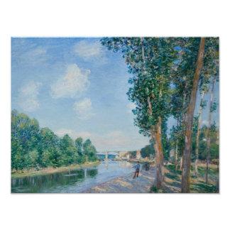 Alfred Sisley - Saint-Mammes. June Sunshine Photo Print
