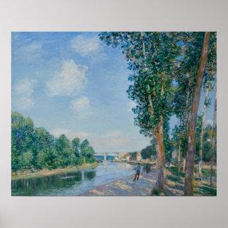 Alfred Sisley - Saint-Mammes. June Sunshine Poster