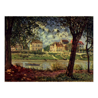 Alfred Sisley -  Seine bei Saint-Mammès 1884 Poster