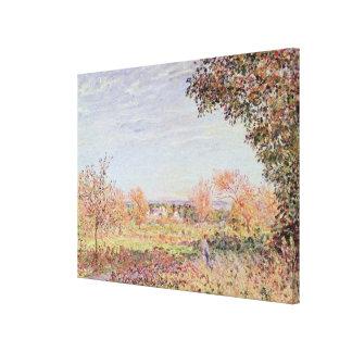 Alfred Sisley | September Morning Canvas Print