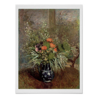 Alfred Sisley | Still Life of Wild Flowers Poster