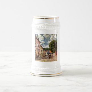Alfred Sisley - Straße en el Moret-sur-Loing 1892 Jarra De Cerveza
