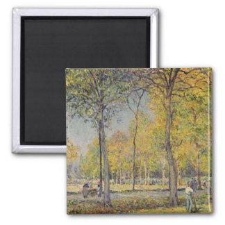 Alfred Sisley | The Bois de Boulogne Magnet