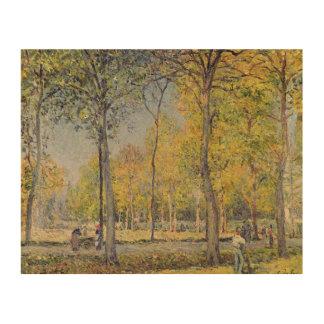 Alfred Sisley | The Bois de Boulogne Wood Wall Art