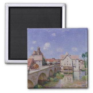 Alfred Sisley | The Bridge at Moret Magnet