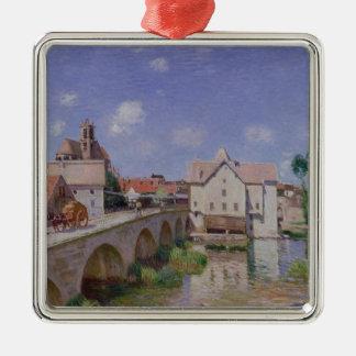 Alfred Sisley | The Bridge at Moret Metal Ornament