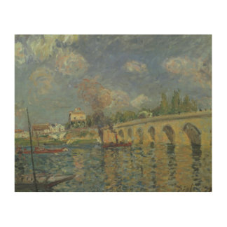 Alfred Sisley | The Bridge Wood Wall Decor