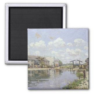 Alfred Sisley | The Canal Saint-Martin, Paris Magnet