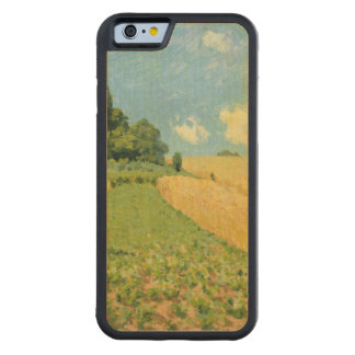 Alfred Sisley | The Cornfield Carved Maple iPhone 6 Bumper Case