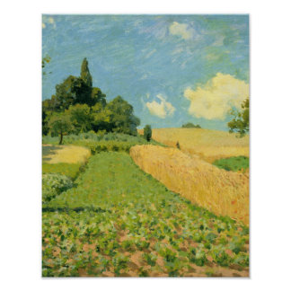 Alfred Sisley | The Cornfield Poster