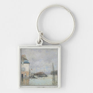 Alfred Sisley | The Flood at Port-Marly Keychain