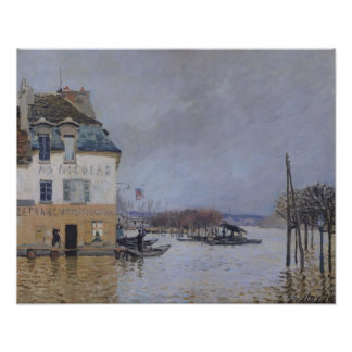 Alfred Sisley | The Flood at Port-Marly Poster
