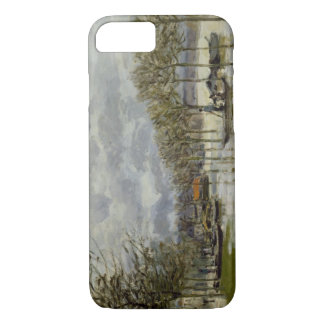 Alfred Sisley - The Flood on the Road iPhone 8/7 Case