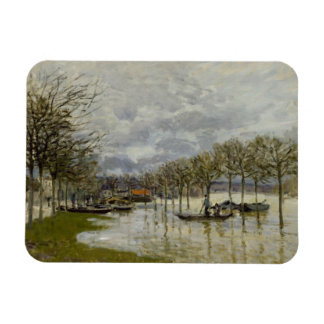 Alfred Sisley - The Flood on the Road Magnet