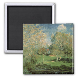 Alfred Sisley | The Garden of Hoschede Family Magnet