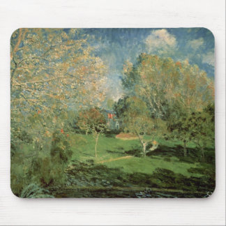 Alfred Sisley | The Garden of Hoschede Family Mouse Pad