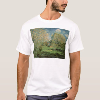 Alfred Sisley | The Garden of Hoschede Family T-Shirt