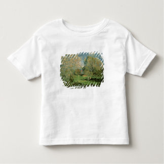 Alfred Sisley | The Garden of Hoschede Family Toddler T-shirt