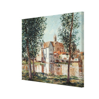 Alfred Sisley | The Loing at Moret Canvas Print