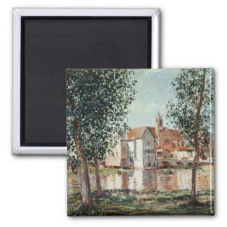 Alfred Sisley | The Loing at Moret Magnet