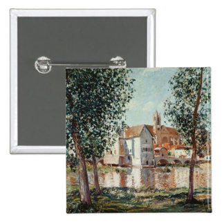 Alfred Sisley | The Loing at Moret Pinback Button