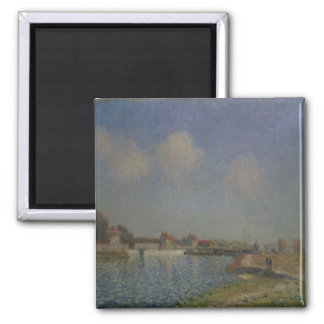 Alfred Sisley | The Loing at Saint-Mammes Magnet