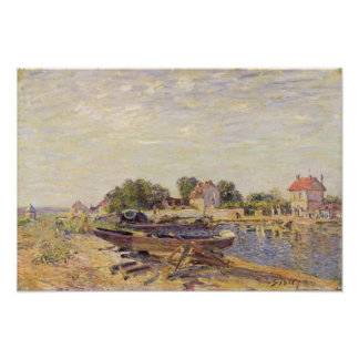 Alfred Sisley   The Loing at Saint-Mammes Poster