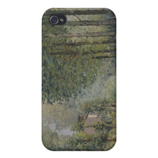 Alfred Sisley | The Rest by the Stream Cover For iPhone 4