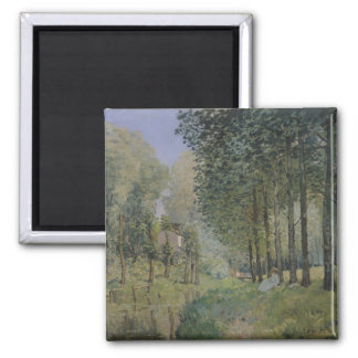 Alfred Sisley | The Rest by the Stream Magnet