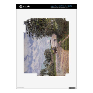 Alfred Sisley   The Road from Mantes  iPad 3 Skin