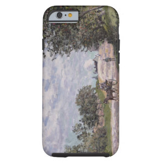 Alfred Sisley | The Road from Mantes  Tough iPhone 6 Case