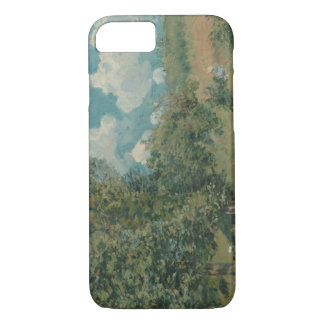 Alfred Sisley - The Road from Versailles iPhone 8/7 Case