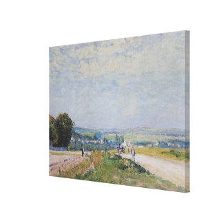 Alfred Sisley | The Road to Montbuisson Canvas Print