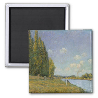 Alfred Sisley | The Seine at Billancourt Magnet