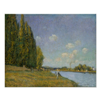 Alfred Sisley | The Seine at Billancourt Poster