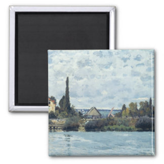 Alfred Sisley | The Seine at Bougival Magnet