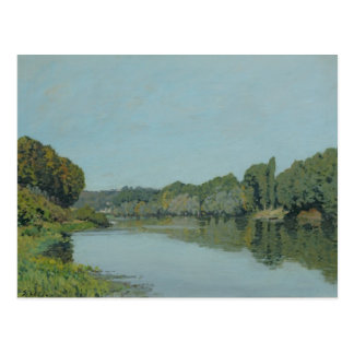 Alfred Sisley   The Seine at Bougival Postcard
