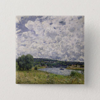 Alfred Sisley | The Seine at Suresnes Button