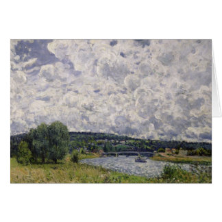 Alfred Sisley | The Seine at Suresnes Card