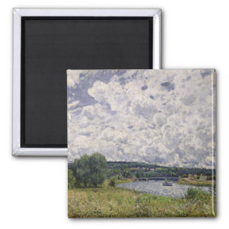 Alfred Sisley | The Seine at Suresnes Magnet