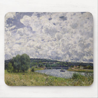 Alfred Sisley | The Seine at Suresnes Mouse Pad