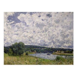 Alfred Sisley | The Seine at Suresnes Postcard