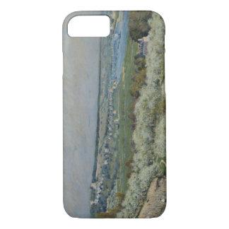 Alfred Sisley - The Terrace at Saint-Germain iPhone 8/7 Case