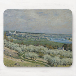 Alfred Sisley - The Terrace at Saint-Germain Mouse Pad