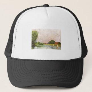 Alfred Sisley - Themse bei Hampton Court 1874 Trucker Hat
