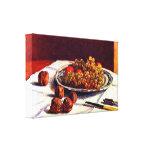 Alfred Sisley - todavía uvas y nueces de la vida Impresion De Lienzo